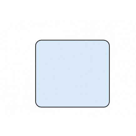 Стекло 101-5403105 боковое (904х860)