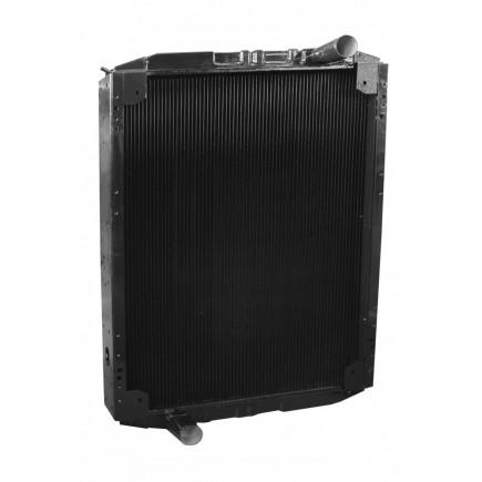 Радиатор водяной 107-1301010 медный  (3-х ряд Е-2,3)